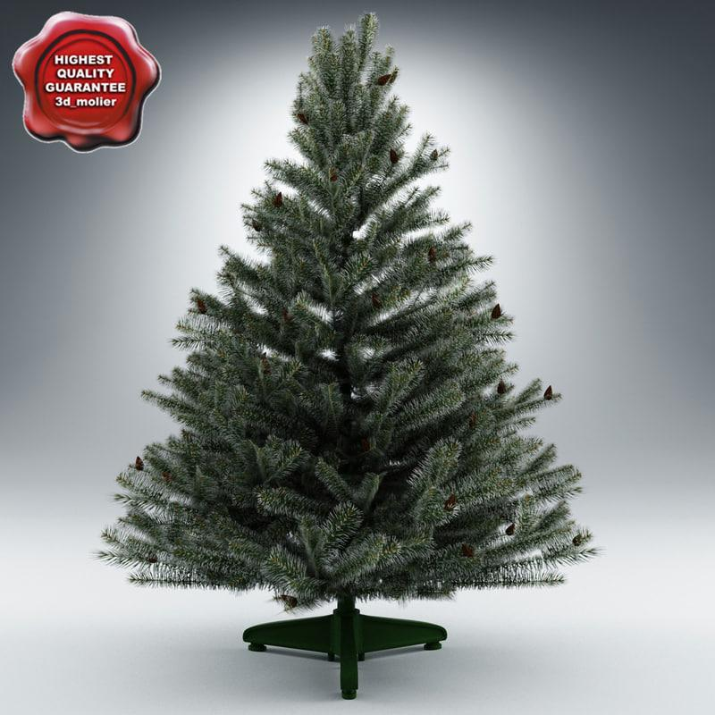 christmas interior decor tree 3d model turbosquid
