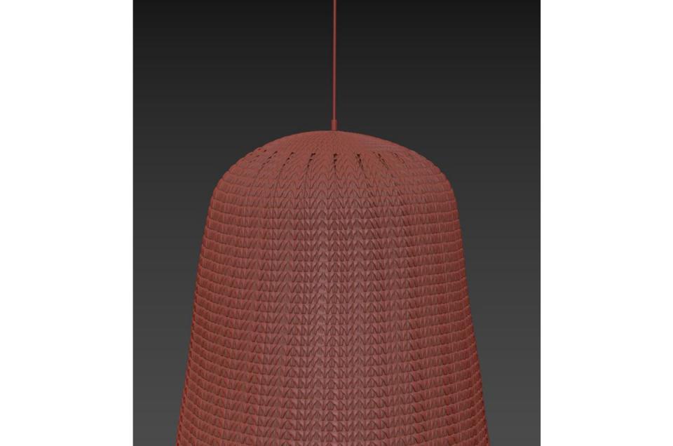 modern ceiling light 3d model