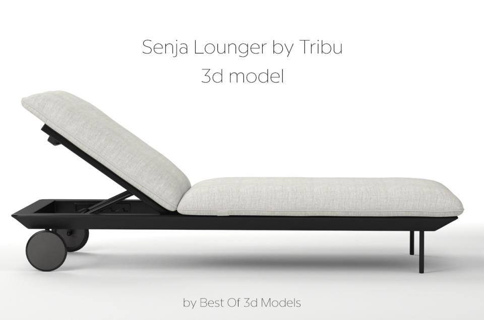 senja lounge tribu 3d model