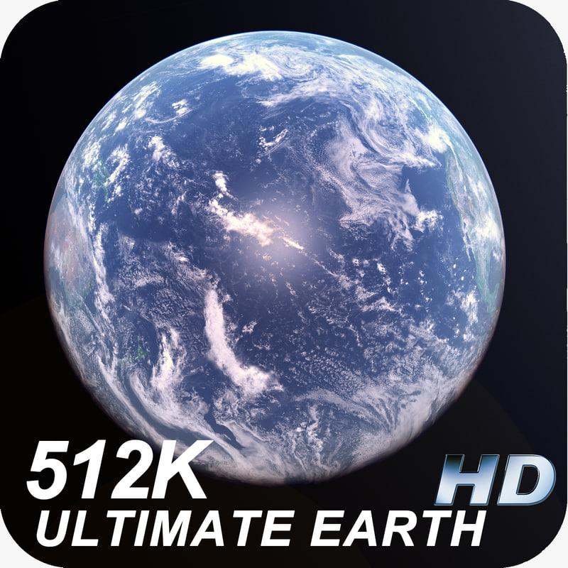 planet earth 3d model turbosquid