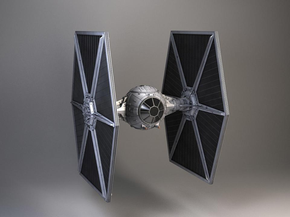 Star Wars TIE Fighter 3d model turbosquid