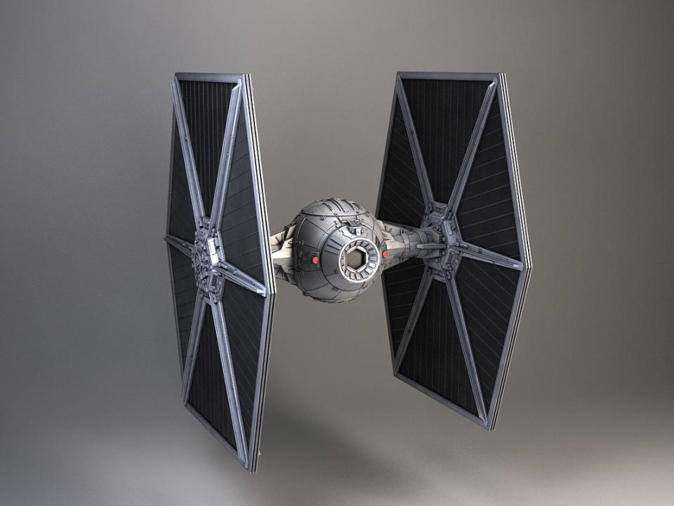 star wars spacecraft 3d model turbosquid