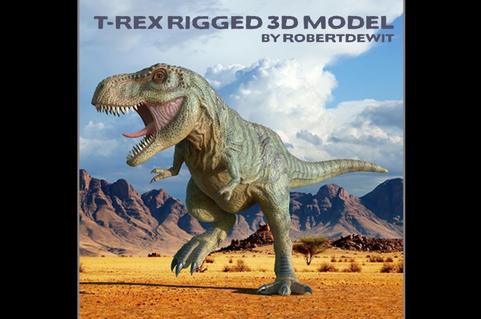 dinosaur 3d model turbosquid