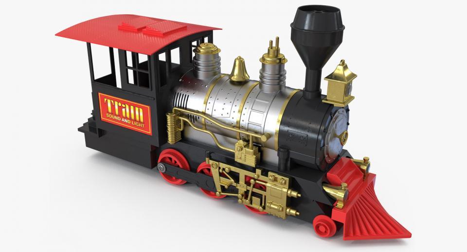 train toy 3d model turbosquid
