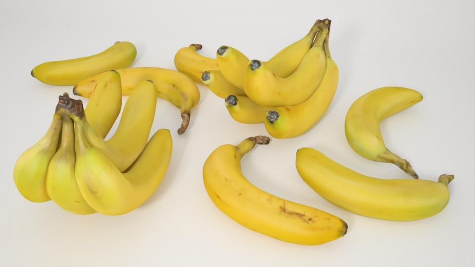 bananas 3d model vizpark 3d collection