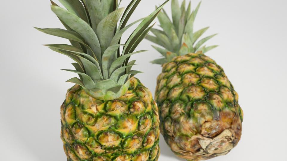 pineapples 3d model vizpark