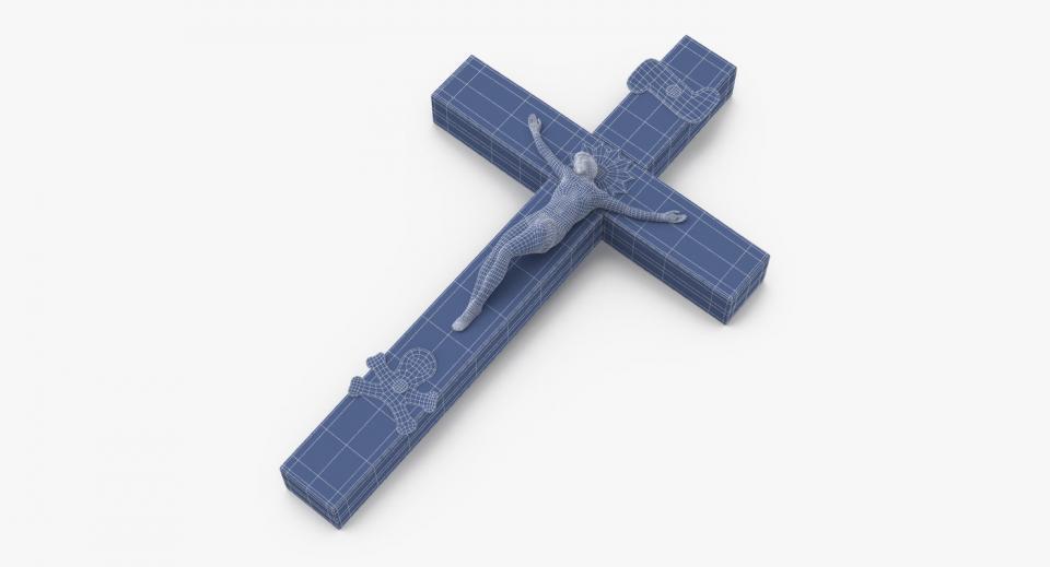 3d model crucifix
