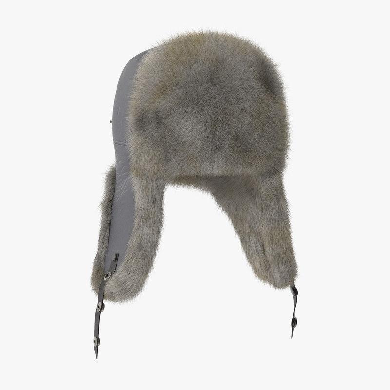 winter hat 3d model turbosquid