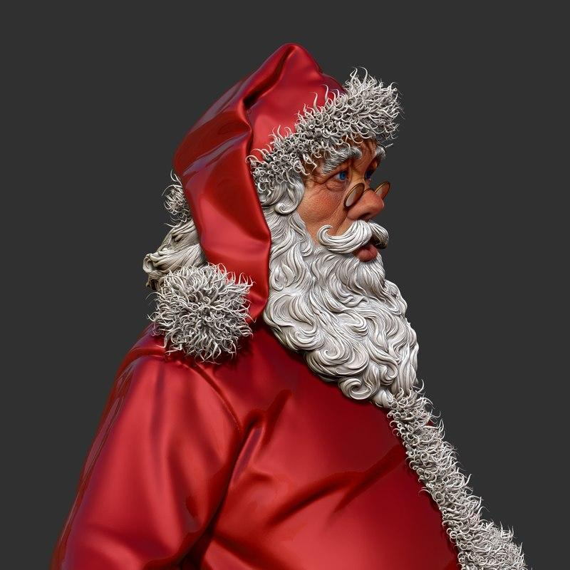 saint nicholas 3d model turbosquid