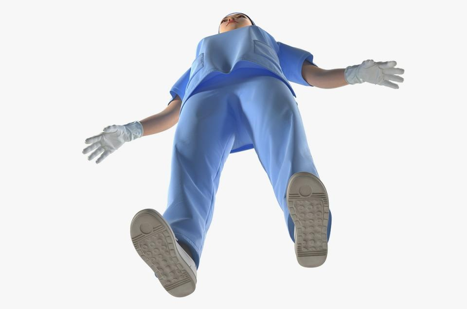 female medical doctor 3d model rigged turbosquid