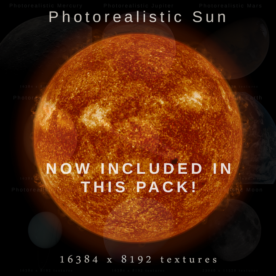 sun 3d model
