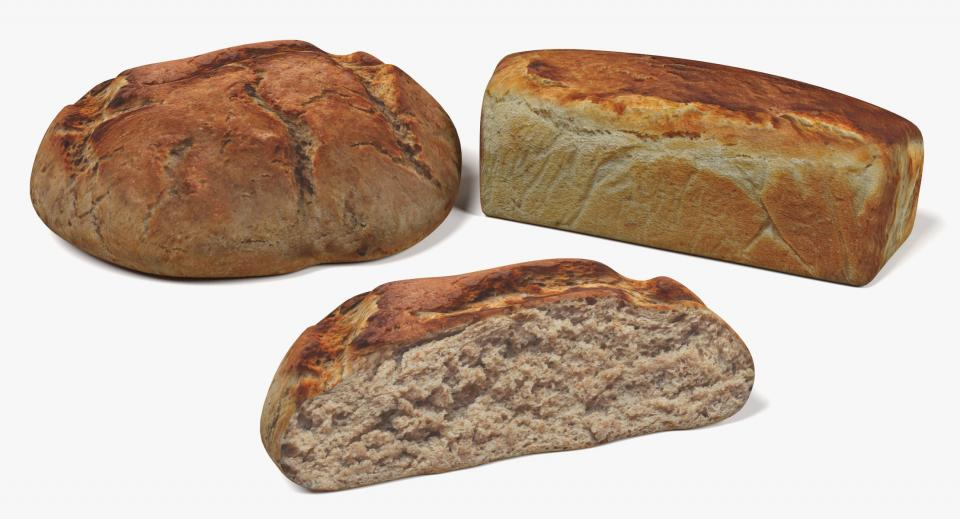 Bread 3d models