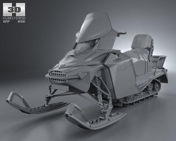 bombardier 3d model turbosquid 3dsmax vray