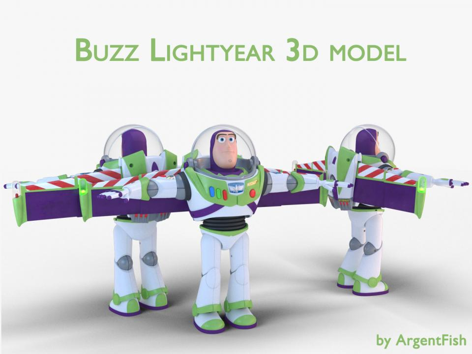 toy story 3d model turbosquid