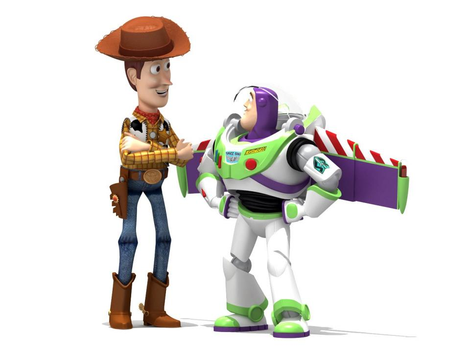 buzz and woody 3d model 3dexport