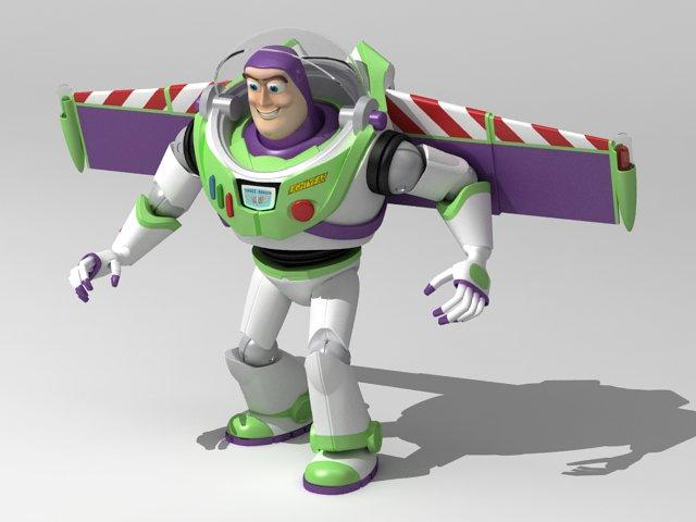 buzz toy story 3d model 3dexport
