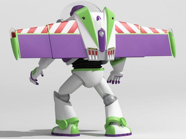 buzz character 3d model 3dexport