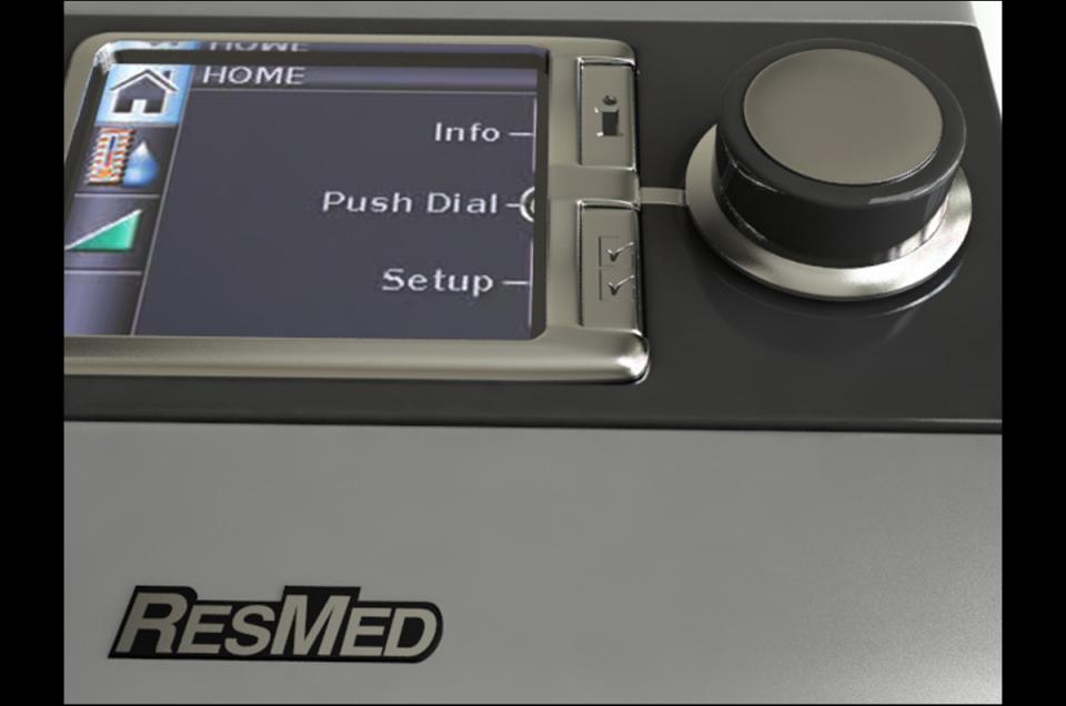 cpap sleep apnea therapy 3d model