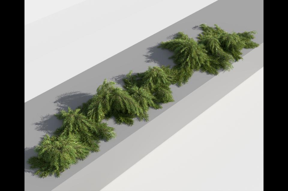 home garden plant 3d model turbosquid