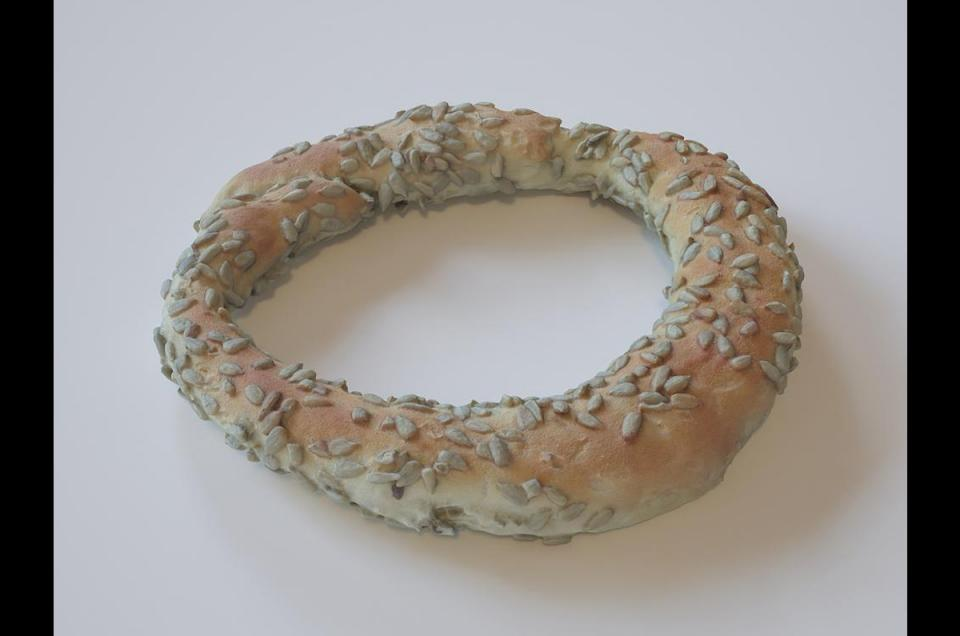 sesame bread rings 3d scanned model