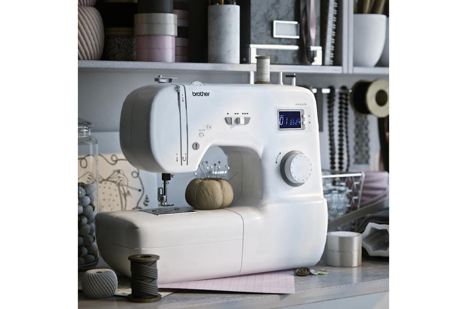 modern sewing machine 3d model turbosquid