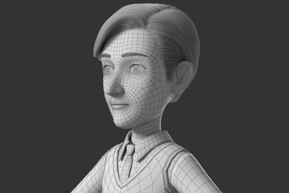 human head 3d model maya turbosquid
