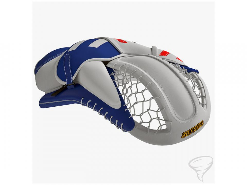 ice hockey catching glove 3dmodel turbosquid