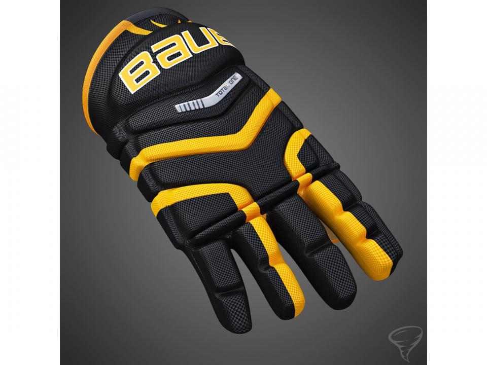 ice hockey glove 3dmodel turbosquid