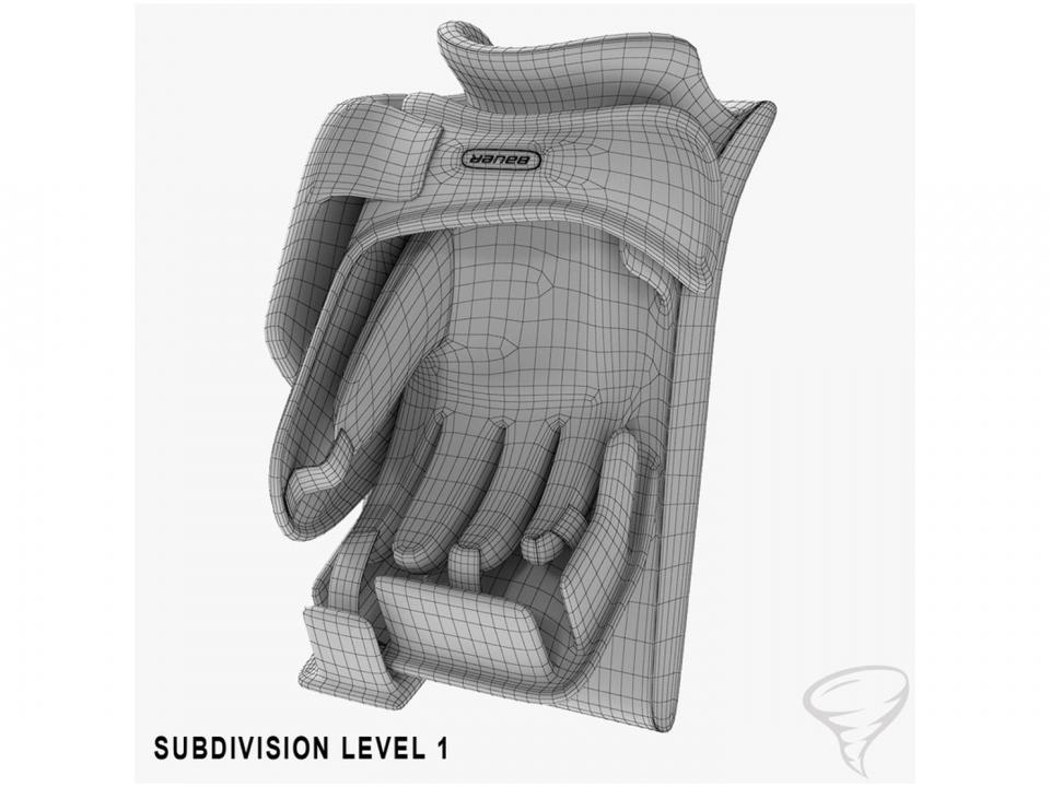 winter sports gloves 3d model turbosquid
