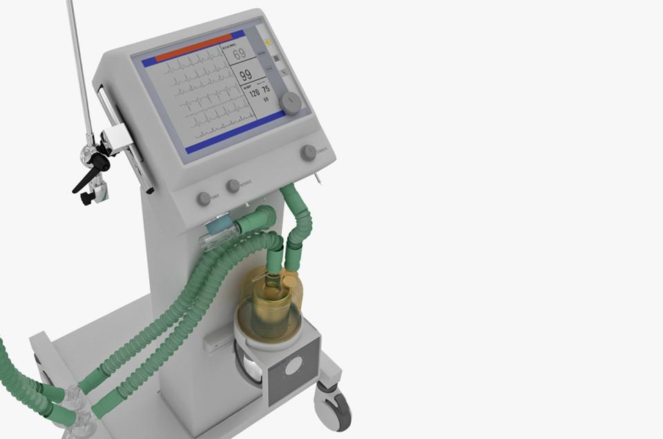 portable ventilator device 3d model turbosquid