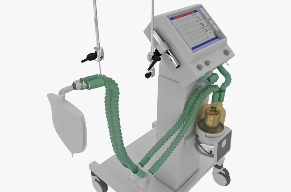 mechanical ventilation 3d model turbodquid