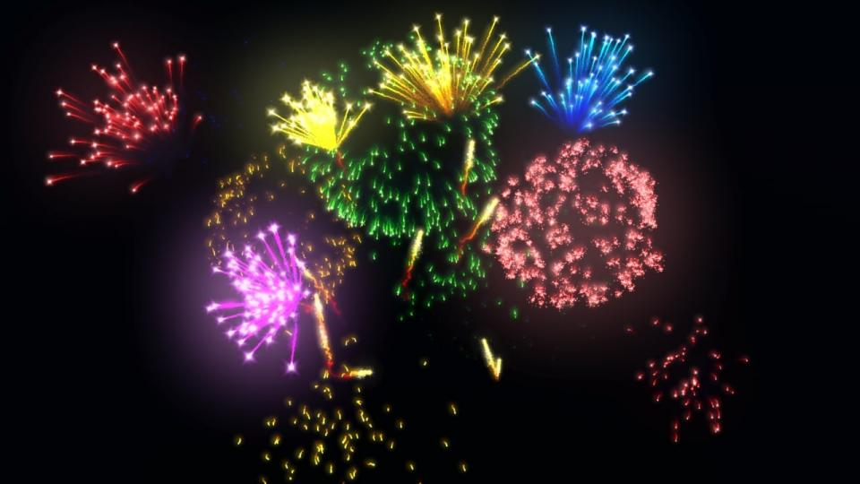 holidays fireworks 3d model turbosquid