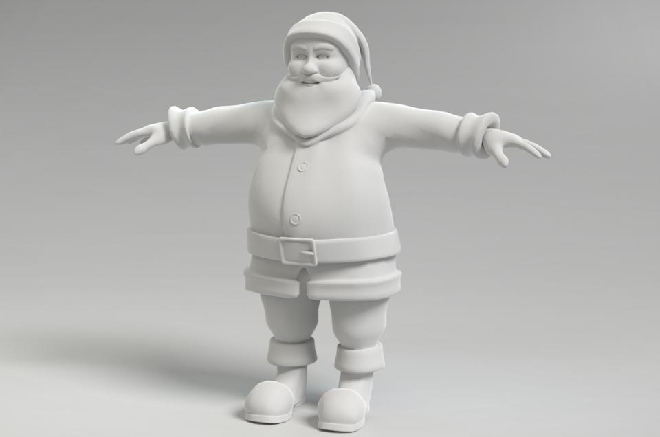 Kris Kringle 3d model turbosquid