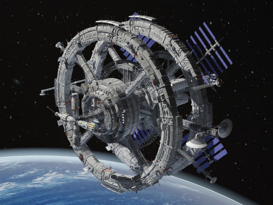 space station 3d model 3dexport