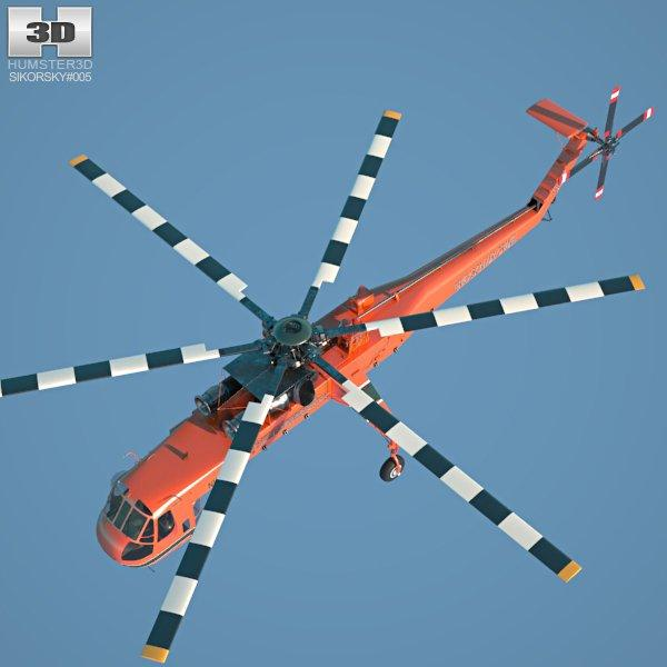 civil lift aircraft 3d model 3dexport