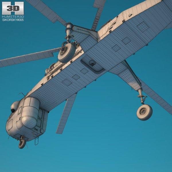 heavy-lift helicopter 3d model 3dexport