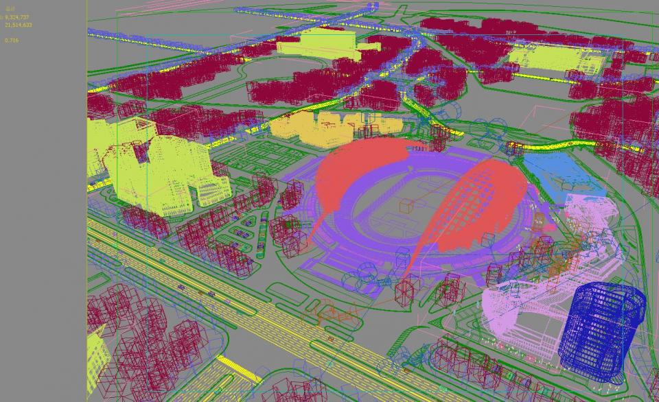 football stadium 3d model 3dexport