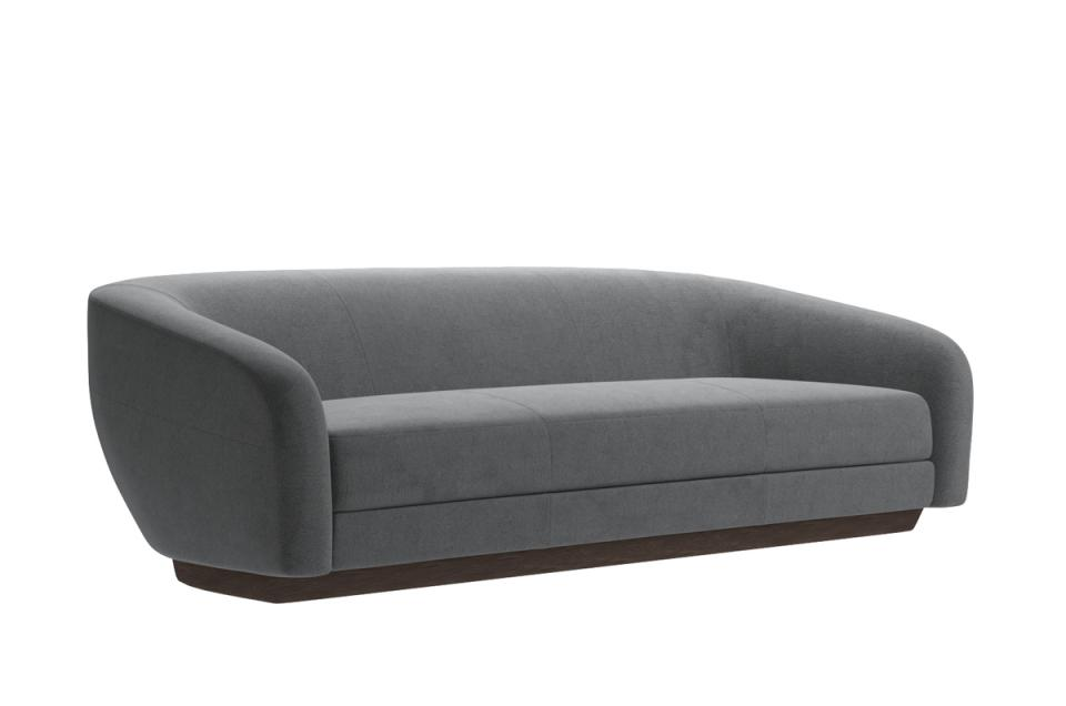 luxury sofa 3d model holly hunt