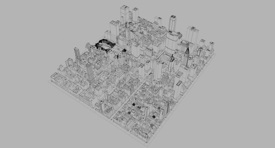 city 3d model turbosquid