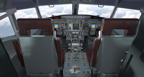 cockpit 3d model turbosquid