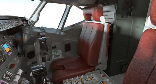 boeing interior 3d model turbosquid