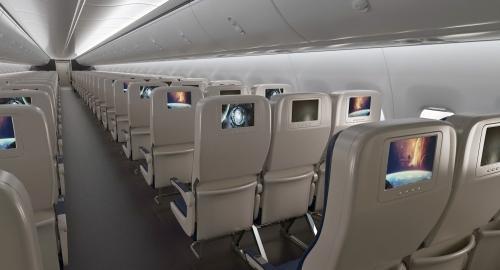 passengers seats plane 3d model turbosquid