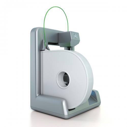 3d model of a cube 3d printer