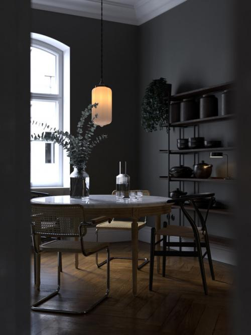 dining room 3d model turbosquid