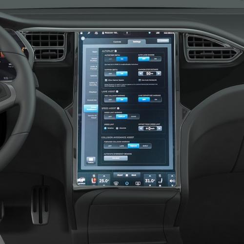 tesla car accessories 3d model turbosquid