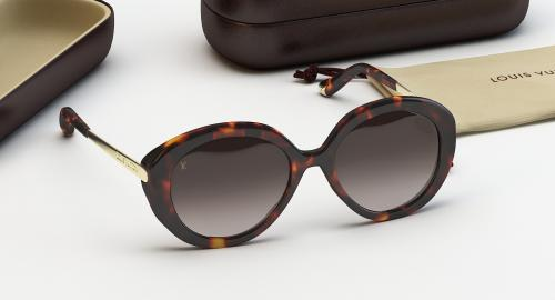 3d model of Louis Vuitton Bluebell sunglasses