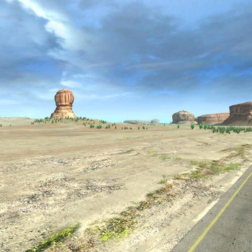 desert landscape 3d model turbosquid