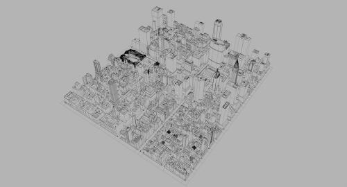 city 3d model turbosquid