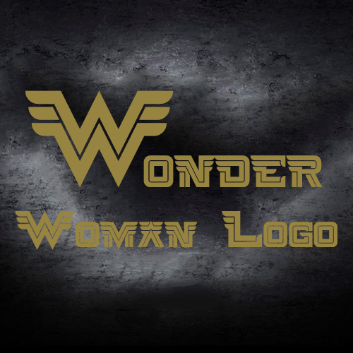 wonder woman logo 3d model 3dexport